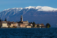 Salà ², Garda湖 免版税库存图片