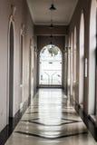 Salão branco Imagens de Stock Royalty Free