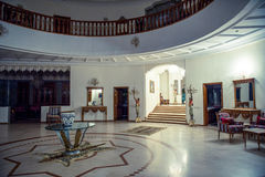 Salão branco grande Fotos de Stock Royalty Free