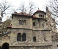 Salão cerimonial judaico em Praga Fotografia de Stock Royalty Free