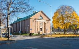 Salão clássico da ginástica em Norrkoping, Suécia fotografia de stock royalty free