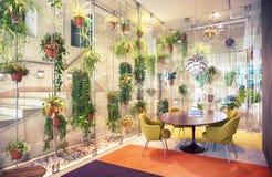 Salão da casa moderna Fotografia de Stock Royalty Free