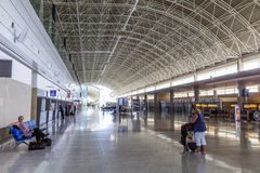 Salão da chegada em Fuerteventura fotos de stock royalty free