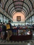 Salão da estação de correios da cidade Imagem de Stock Royalty Free