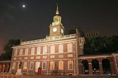 Salão da independência em Philadelphfia Imagem de Stock