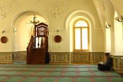 salão da oração da mesquita Fotos de Stock Royalty Free