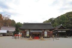 Salão da oração do santuário de Kamigamo em Kyoto imagens de stock