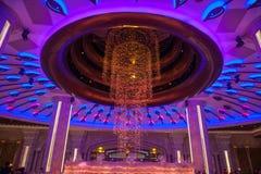 Salão da recepção do casino de Macau da galáxia Imagem de Stock