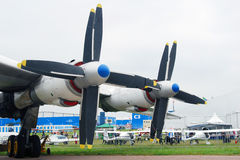 Salão de beleza aeroespacial internacional MAKS-2013 Imagem de Stock Royalty Free