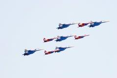 Salão de beleza aeroespacial internacional MAKS-2013 Imagens de Stock Royalty Free