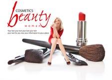 Salão de beleza da beleza. Conceito Foto de Stock Royalty Free