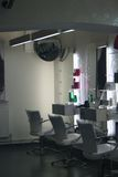 Salão de beleza de cabelo Fotografia de Stock Royalty Free