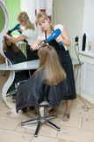 Salão de beleza de cabelo imagem de stock royalty free