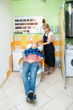Salão de beleza de cabelo Fotos de Stock Royalty Free