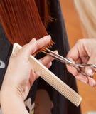 Salão de beleza do cabeleireiro Fotos de Stock Royalty Free