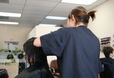Salão de beleza do cabelo fotografia de stock