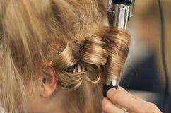 Salão de beleza do cabelo Imagem de Stock Royalty Free