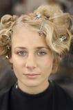 Salão de beleza do cabelo Fotografia de Stock Royalty Free