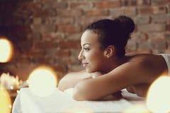Salão de beleza dos termas Fotografia de Stock Royalty Free