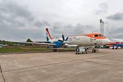 Salão de beleza internacional MAKS da aviação e do espaço em Zhukovsky, Rússia Foto de Stock Royalty Free