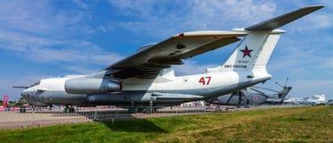 Salão de beleza internacional MAKS da aviação e do espaço em Zhukovsky, Rússia Imagens de Stock Royalty Free