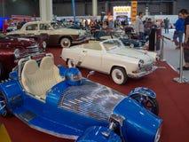 Salão de beleza internacional MMAS 2018 do automóvel de Moscou fotos de stock royalty free