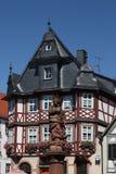 Salão de cidade de Heppenheim Imagem de Stock