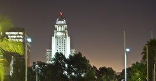 Salão de cidade de Los Angeles fotos de stock royalty free