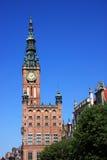 Salão de cidade de Poland Gdansk Fotografia de Stock