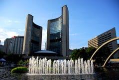 Salão de cidade de Toronto fotos de stock royalty free