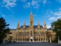 Salão de cidade de Viena Foto de Stock