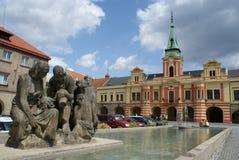Salão de cidade em Melnik fotografia de stock royalty free