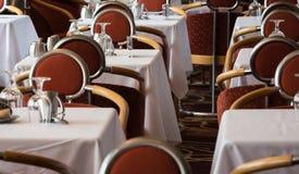 Salão de Dinning Fotografia de Stock Royalty Free