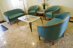 Salão de espera Fotografia de Stock Royalty Free