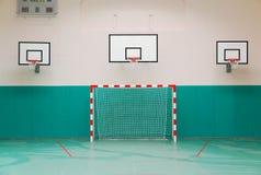 Salão de esportes da escola Imagem de Stock Royalty Free