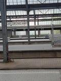 Salão de estação Karlsruhe Hbf fotografia de stock