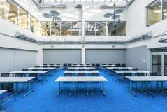 Salão de estudo da biblioteca Foto de Stock