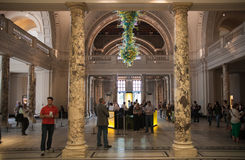 Salão de exposição de Victoria e de Albert Museum Imagem de Stock Royalty Free