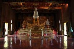 Salão de imitação do trono Foto de Stock