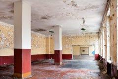 Salão de jantar velho da licença Fotografia de Stock