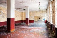Salão de jantar velho da licença Imagem de Stock