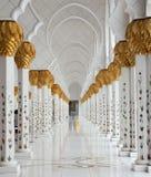 Salão de mármore Fotos de Stock Royalty Free