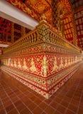 Salão de Maisong De templo do espaço livre de Tailândia Foto de Stock