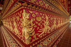 Salão de Maisong De templo do espaço livre de Tailândia Imagem de Stock Royalty Free