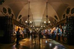 Salão de pano de Krakow Imagem de Stock Royalty Free