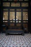 Salão de vida em Cheong Fatt Tze Mansion imagem de stock royalty free