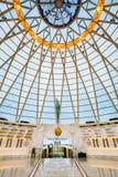Salão dentro da abóbada do museu bielorrusso do grande patriótico Imagens de Stock Royalty Free