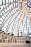 Salão dentro da abóbada do museu bielorrusso do grande patriótico Fotos de Stock Royalty Free
