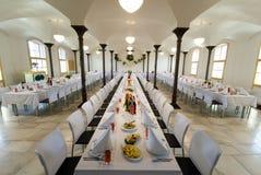 Salão do banquete Fotografia de Stock