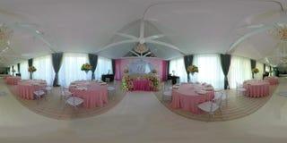 Salão do banquete do casamento video estoque